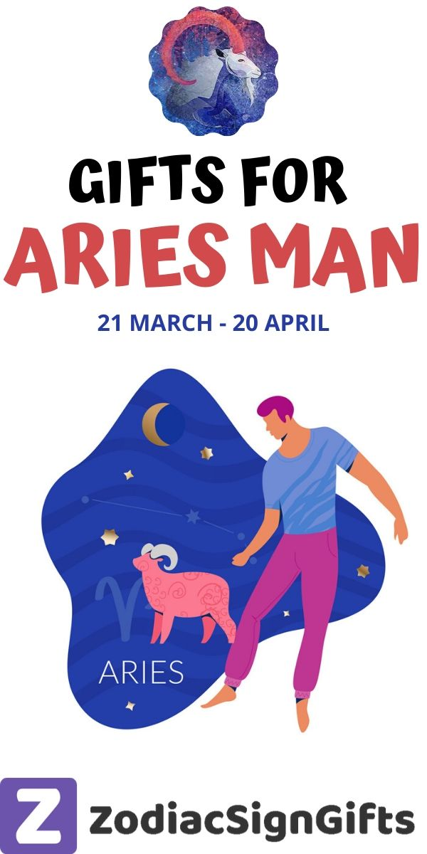 Gifts for aries man