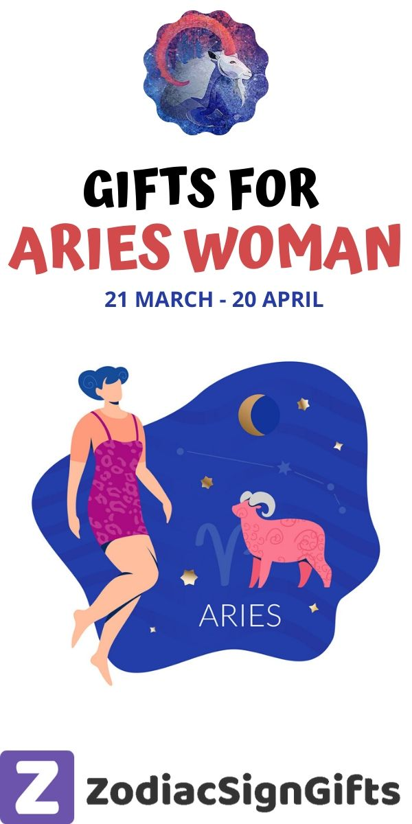Gifts for aries woman