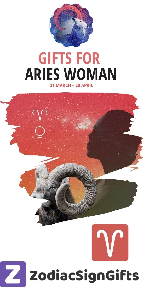 gift ideas for aries woman