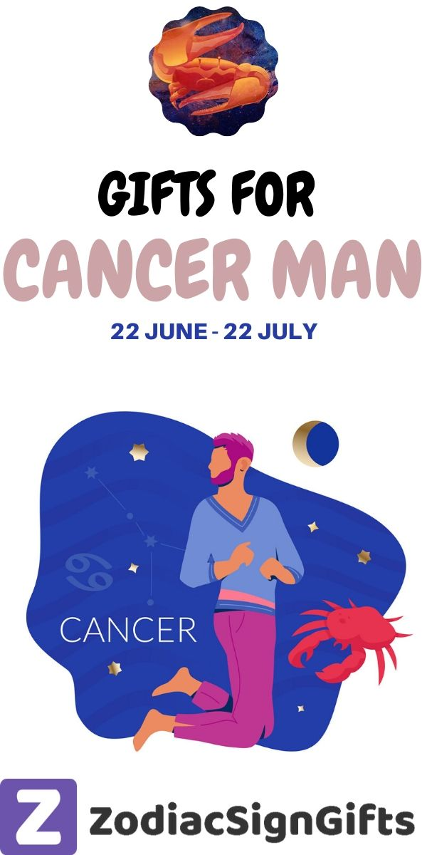 gifts for cancer man