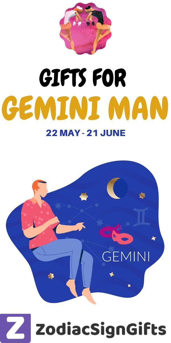 Gemini man gifts