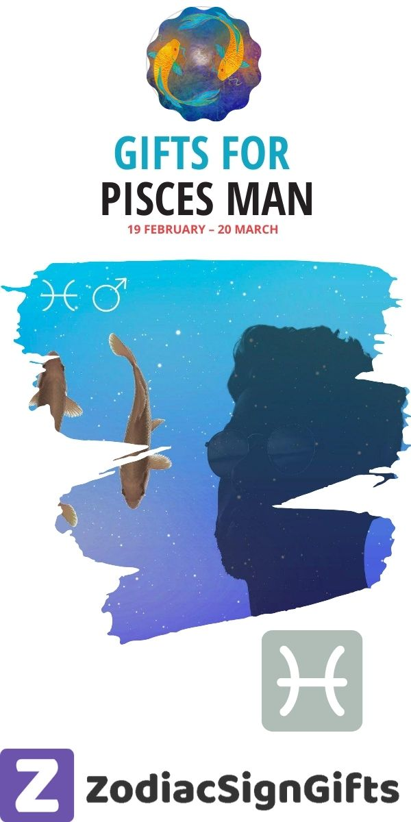 gifts for pisces man