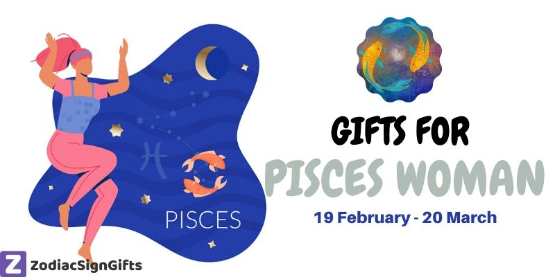 Pisces Zodiac Sign Round Glass Ornament The Fish Symbol Astrology Horoscope Water Sign Pink Birthday Gift