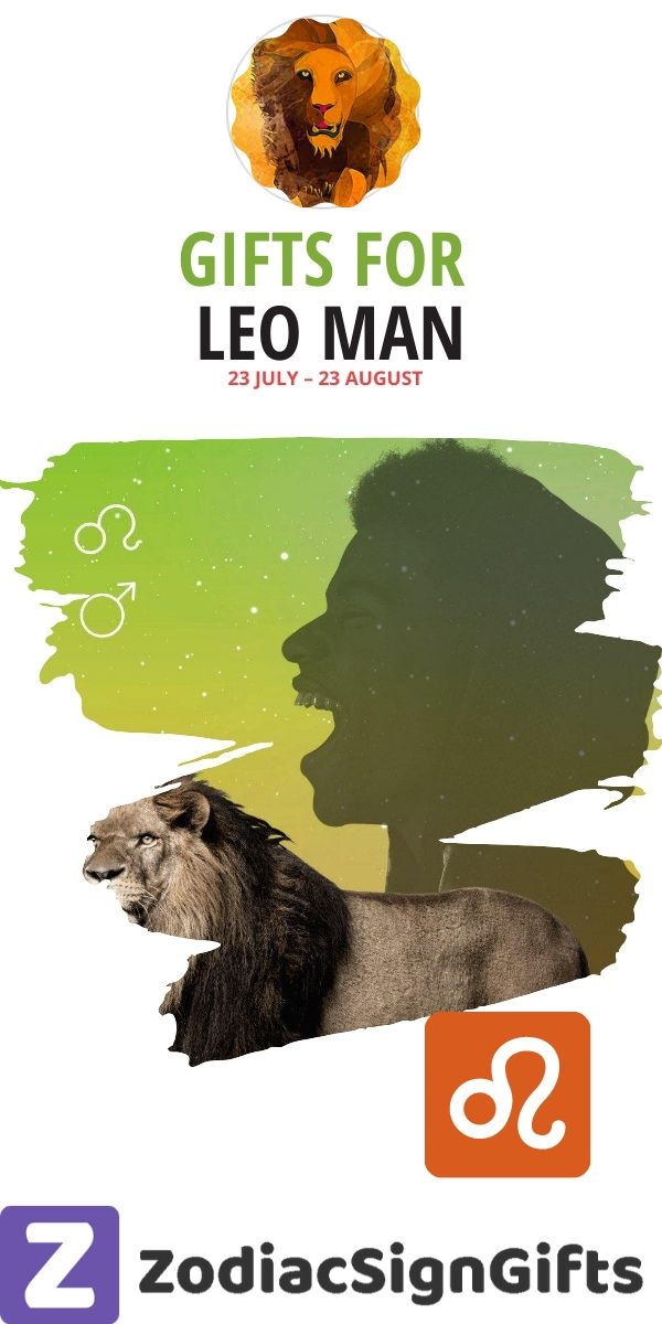 gifts for leo man