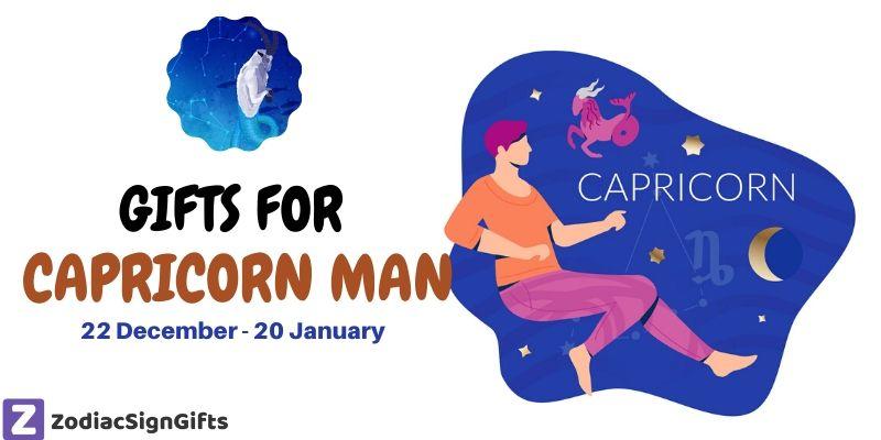 gift for capricorn man