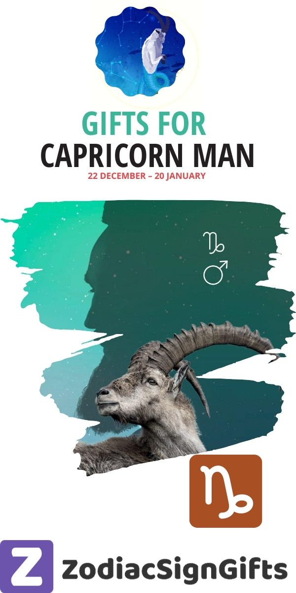 gifts for capricorn man