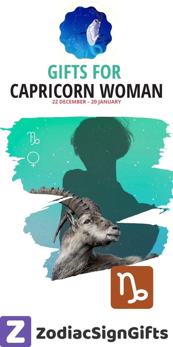 gifts for capricorn woman