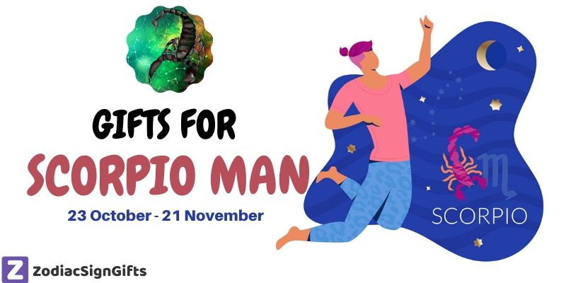 gifts for scorpio man