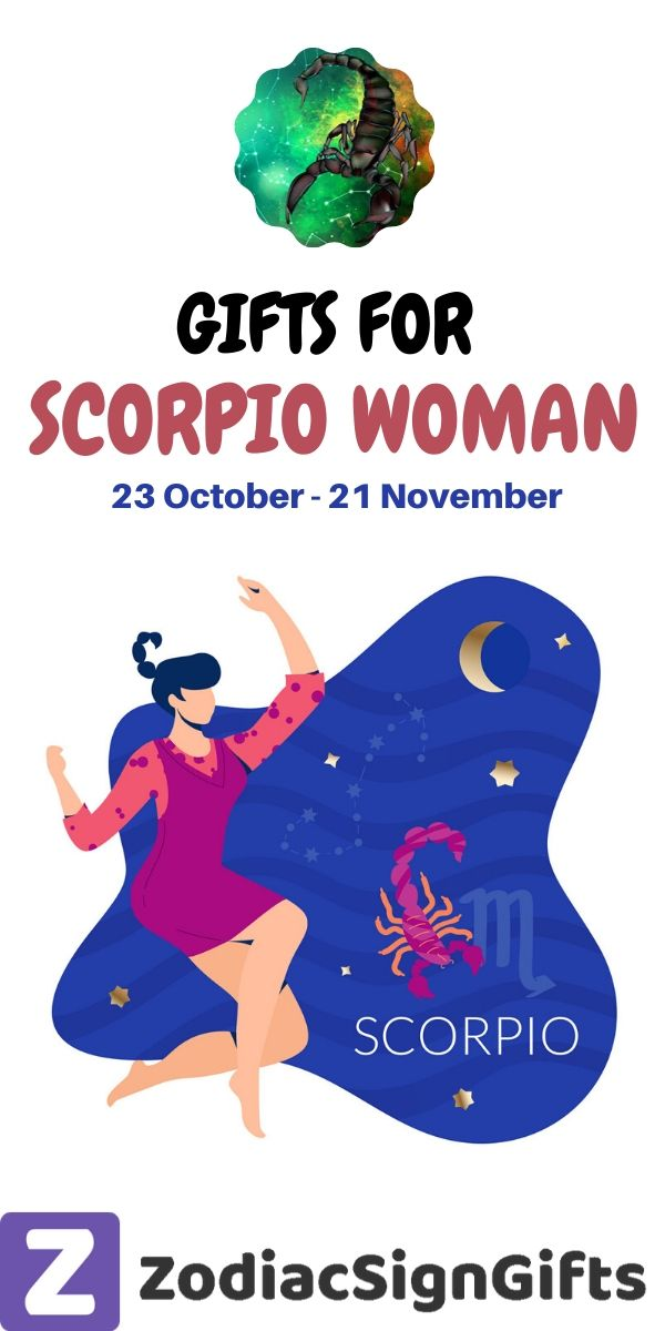 gifts for scorpio woman