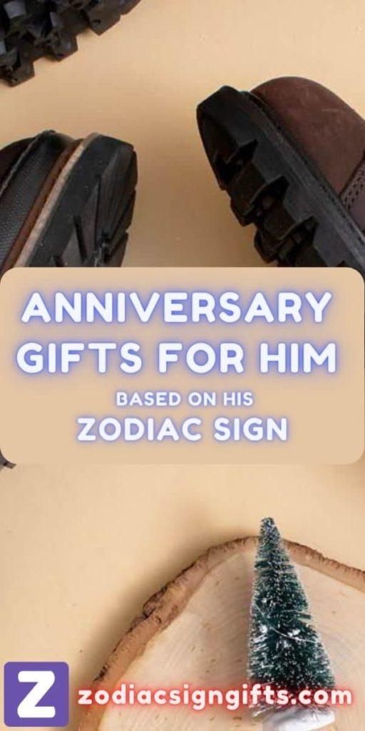 anniversary gifts for him based on his zodiac sign